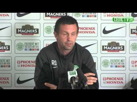 Celtic FC - Ronny Deila pre-match v Dundee Utd, 24/04/2015