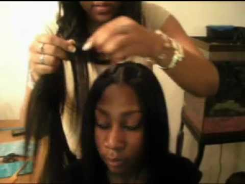 Invisible Part Weave-The Tutorial Video