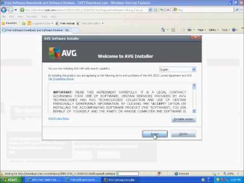 AVG Free 2012 Antivirus Tutorial - How To Install A Free Antivirus