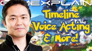 Ohmori & Masuda on Pokémon Sword & Shield's Lack of Voice Acting, Timeline Placement, & More!