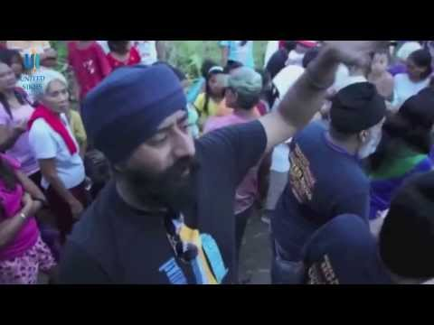 UNITED SIKHS Sikh Aid relief team in Philippines - Typhoon Haiyan
