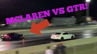Street Racing Made Safe Event! MCLAREN VS GTR & HELLCAT!