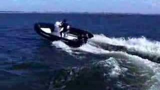 fast RIB boat 5,6 mtrs. with 2x40HPsuzuki Testdrive 2.