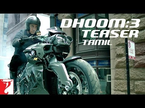 Dhoom:3 Teaser - TAMIL - Aamir Khan | Abhishek Bachchan | Katrina Kaif | Uday Chopra