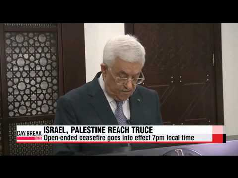 Long-term ceasefire reached between Israel, Palestine   이스라엘, 하마스 가자사태 무기한 휴전 합의
