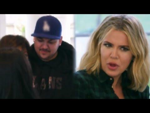 "Khloe Kardashian Calls Rob's Proposal To Blac Chyna ""F**ked Up"""