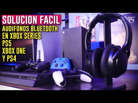 Como conectar AUDIFONOS BLUETOOTH a Ps4, Xbox One, Ps5 o Xbox Series 🔥Vincular Headset Bluetooth