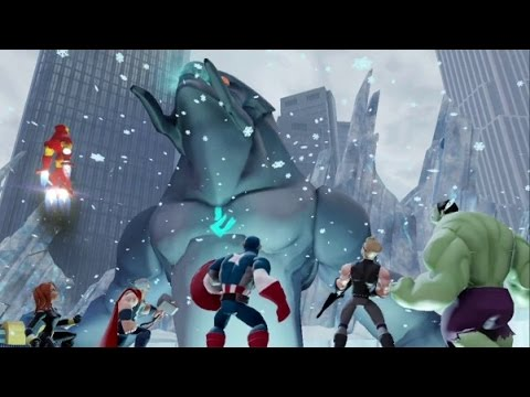 Disney Infinity 2.0 - Marvel Super Heroes - The Avengers Playset Walkthrough Part 12 - Boss Fight
