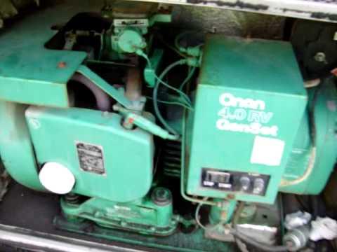 1987    Onan       Generator    Runs Perfect Now  YouTube
