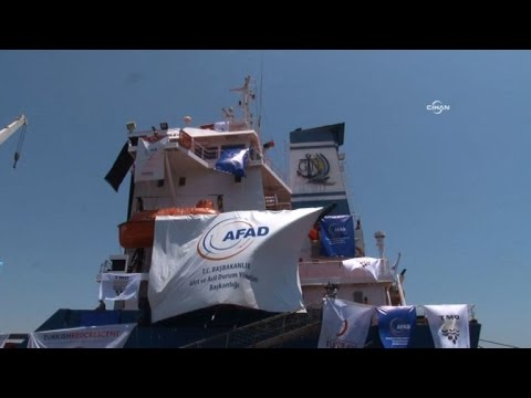 Turkish ship sets off for Israel with Gaza aid