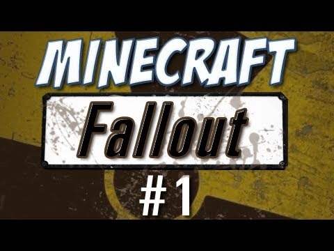 Minecraft - Fallout-inspired Custom Map (Part 1) Music Videos