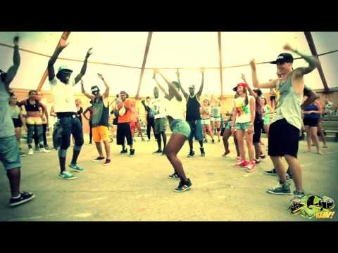 """P-SQUARE - ALINGO"" DANCEHALL WORKSHOP BY ANDREY BOYKO & LIL'JAZZ IN BIGUP KEMP EUROPE 2013!"