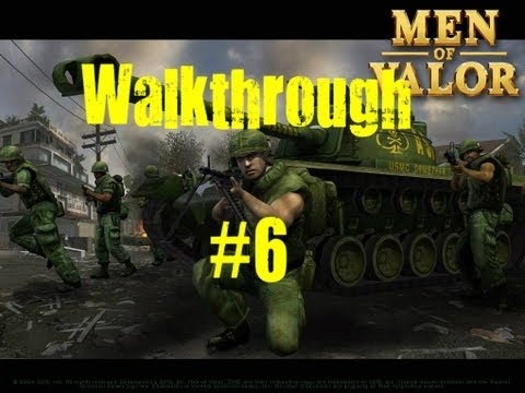 Men Of Valor Walkthrough Part 6 w/AsianSinper4 - SOG Mission
