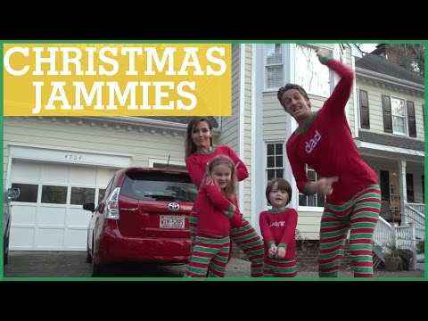 #XMAS JAMMIES - Merry Christmas from the Holderness Family!   The Holderness Family