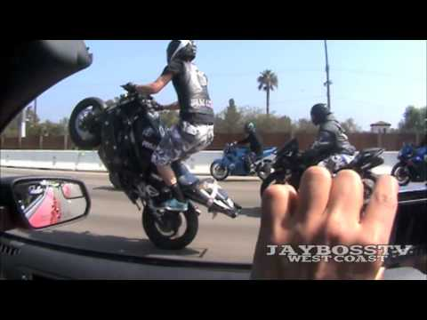 LA RUFF RYDERS TAKE OVER STREETS 2010