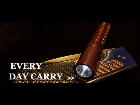 2016 edc every day carry gear gun knife flashlight etc