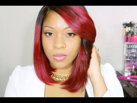 K Michelle Red Hair Bob   RPGSHOW Wig Red Bob Wig