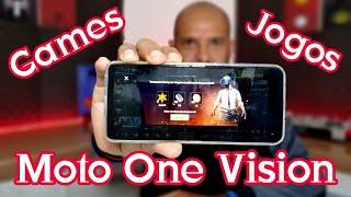 Motorola One Vision, Desempenho em Games