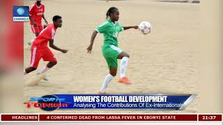 Ayisat Yusuf-Aromire Takes 'She-Football' Campaign To The Grassroots Pt.1 |Sports Tonight|
