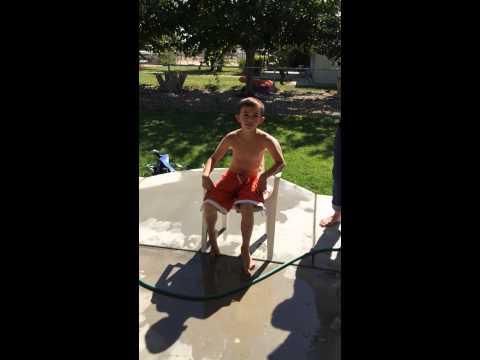 Anderson's ice bucket challenge
