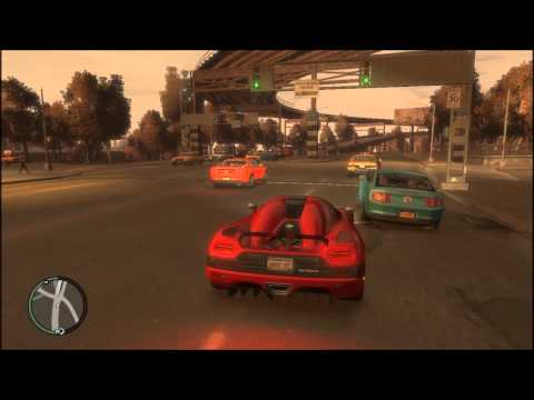 Intel HD 3000:GTA IV Gameplay