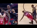 """Patrick Beverley Tells Dwight Howard """"You're ALL Talk,"""" Pays the Price with VICIOUS Screen"""
