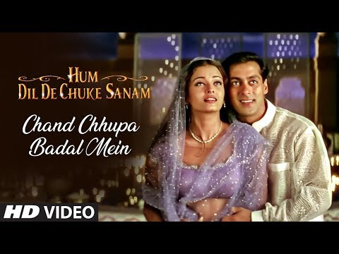 Chand Chhupa Badal Mein Full Song | Hum Dil De Chuke Sanam | Salman Khan, Aishwarya Rai video