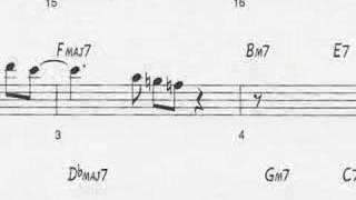 Animated Sheet Music 34 Giant Steps 34 By John Coltrane