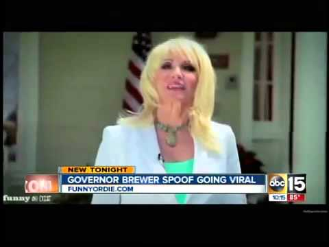 Governor Brewer spoof goes viral
