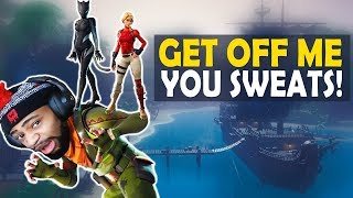 GET OFF ME YOU SWEATS! | HIGH KILL FUNNY GAME