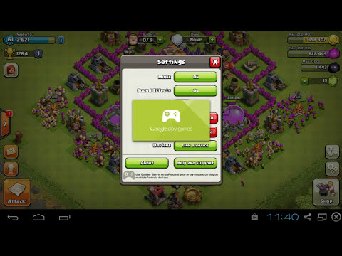 Clash of Clans Tutorial: How to have multiple clash of clans accounts on your android device!