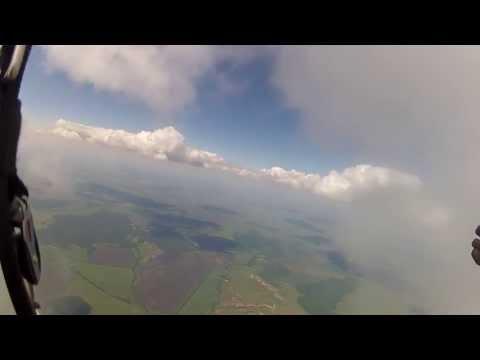 На параплане в облаках 2013-06-08