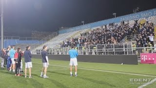 Armada ultras singing 45min after the match