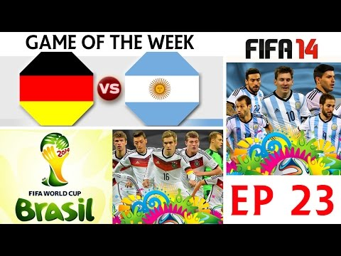 [TTB] FIFA 14 - Germany Vs Argentina - GOTW - WORLD CUP FINAL - Ep23