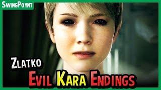Detroit Become Human - EVIL KARA Secret Ending - Zlatko Endings - How to Escape the Memory Machine