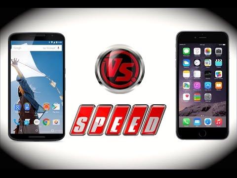 Nexus 6 vs iPhone 6 Plus Rendimiento