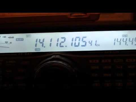 Some new digital mode on the ham radio?
