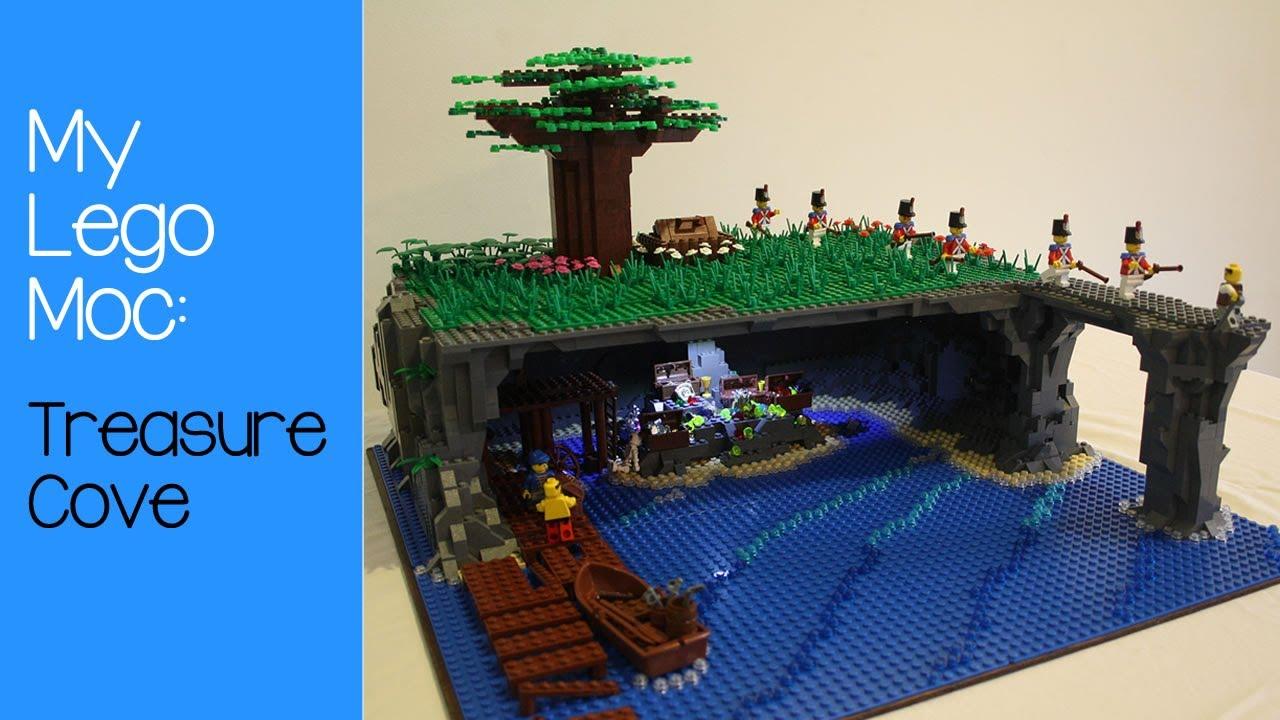 My Lego Moc Treasure Cove Youtube