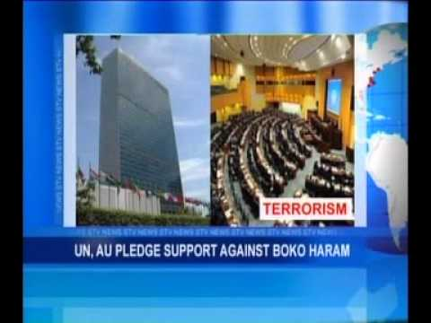 UN, AU Pledge Support Against Boko Haram