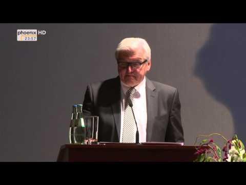 Deutscher Afrika Preis: Frank-Walter Steinmeier zur Leistung des Preisträgers am 06.10.2014