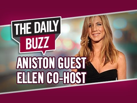 Jennifer Aniston Co-Hosts with Ellen DeGeneres & Brad Pitt Confesses