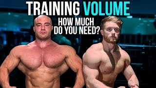 TRAINING VOLUME & HYPERTROPHY: How Much Do You Need? ft. Dr. Mike Israetel