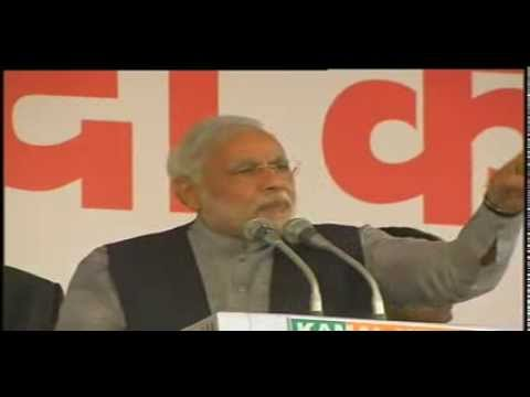 Shri Narendra Modi Addressing A Gathering At Sultanpur Majra, Delhi - Speech video