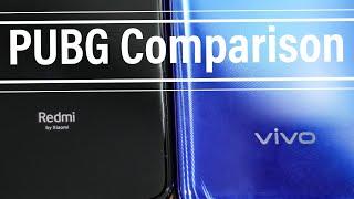 Redmi Note 7 Pro vs Vivo V15 Pro PUBG Gaming Comparison