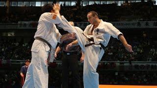 新極真会 The 11th World Karate Championship Men 5th Round1 Valeri Dimitrov Vs Shota Maeda