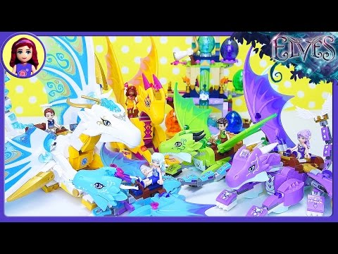 Full Set of Lego Elves Dragons and Baby Eggs Comparison - Kids Toys