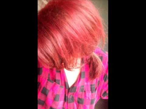 How to dye your hair BRIGHT RED WITHOUT BLEACH- Amazing results