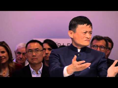 Jack Ma Davos Interview on Jan. 23 2015