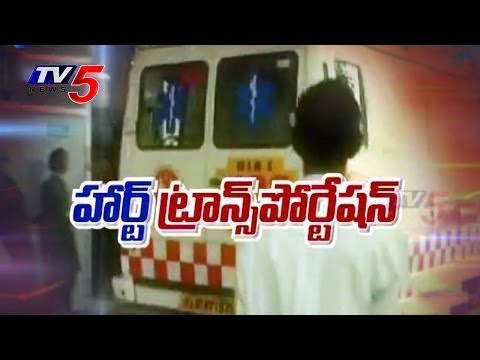 Chennai Traffic Halts For Timely Heart Transplant To Save A Life : Tv5 News video