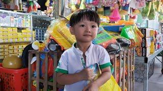 Đồ chơi trẻ em Tin Siêu Còi ❤️ Tin Siêu Còi được Mẹ cho đi chợ mua đồ chơi